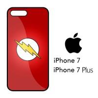 Casing Hp iPhone 7 & iPhone 7 Plus Flash Superhero Logo X4500