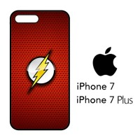 Casing Hp iPhone 7 & iPhone 7 Plus The Flash Logo X4163