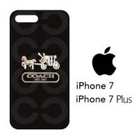 Casing Hp iPhone 7 & iPhone 7 Plus Coach Bag Logo X4194