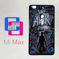 Casing Hp Xiaomi Mi Max Music A Day To Remember X4167