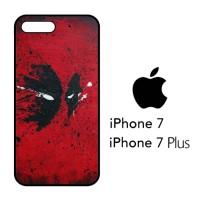 Casing Hp iPhone 7 & iPhone 7 Plus Deadpool Mask X4467