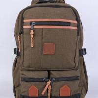 Tas Ransel Laptop / Backpack Casual Unisex Pria Wanita - MB 012