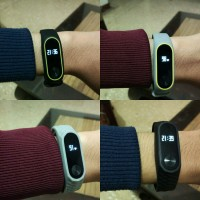 Jual band / strap xiaomi mi band 2 elegant and sporty silicon strap Murah