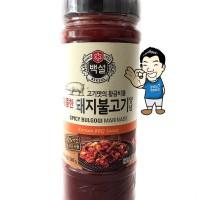 Beksul Korean BBQ SPICY Bulgogi Sauce Marinade/ Saus bumbu BBQ 500g