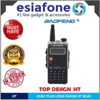 BAOFENG HT Walkie Talkie Dual Band 8W 128CH UHF+VHF - BF-UVB2 Plus