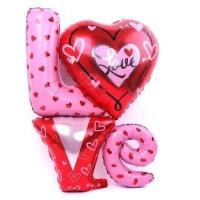 harga Balon Foil Love/ Balon Love/ Balon Anniversary By Queenballoon Tokopedia.com