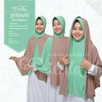 jilbab instan murah/jilbab mukena dua warna