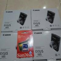 CANON IXUS 185 RESMI FREE SANDISK 16 GB