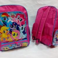 Jual My Little Pony - Tas ransel anak sekolah backpack perempuan murah poni Murah