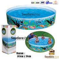 Intex 58461 Ocean SnapSet pool [183cm x 38cm] / Kolam Tanpa Pompa