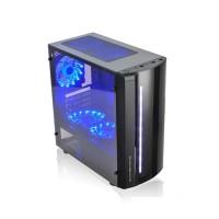 Casing PC CPU CUBE GAMING NOBS Black - M-ATX - RGB Led - Full Acrylic