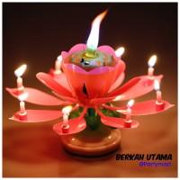 Lilin Teratai, Ada Lagu Happy Birthday Perlengkapan Pesta ulang Tahun