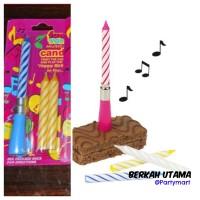 Lilin Lagu Happy Birthday Perlengkapan Pesta ulang Tahun