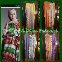 Dayli Kaftan by Dian Pelangi ( ORIGINAL ) Maxi Dress Batik Cantik