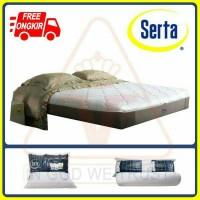 Serta Spring Bed - Xtreme - 200x200 - Sandaran dan Divan Boston Cream