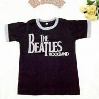 Baju Kaos Bayi Anak The Beatles Rockband