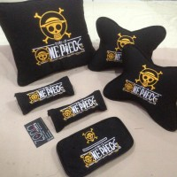Bantal Mobil One Piece/slankers/tengkorak/persib/aremania