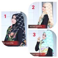 Jilbab instant guccita by flow hijab / hijab instan modern terbaru