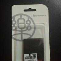 Baterai Lenovo BL-253 BL253 Original 100% Batre A1000/A2010/Vibe A
