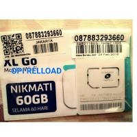 KARTU PERDANA INTERNET XL KUOTA 60GB 60 GB 2 BULAN HARGA GROSIR
