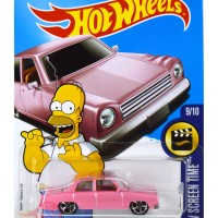 The Simpsons Family Car PINK (2017) - Hot Wheels HW Hotwheels