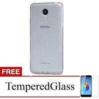 Case for Meizu M5 Note - Abu-abu + Gratis Tempered Glass - Ultra Thin