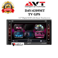 Head Unit Double Din TV Mobil AVT DAV-6209MT GPS Tape DAV 6209 MT