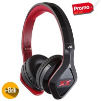 Original JVC HA-SR100X XX Series Black Headphones - Garansi Resmi