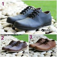 harga Sepatu Kerja Pria Black Master Brodo Low Casual Sneakers Formal Kantor Tokopedia.com