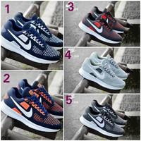 harga Sepatu Sport Pria Nike Airmax Zoom Casual Sneakers Fitness Jogging Tokopedia.com