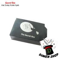 Secret Box | Alat Sulap | Kotak Ajaib | Magic Close Up | Dimen Shop