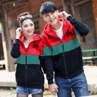 [Cp Jkt Adidas Red Combi LT] couple jaket babyterry com Limited
