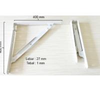 harga Siku Rak / Penyangga / Shelf Bracket Foldable / Lipat Srf003 E - 16