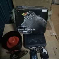 alarm mobil universal merk wolf tipe 123