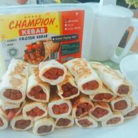Jual Kebab Frozen Halal MUI isi 20 pcs Champion Kebab Original Murah