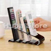 Remote TV Holder Organizer / Tempat Rak Remote AC & DVD Bahan Besi