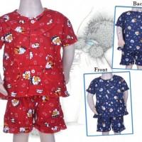 Piyama Anak Perempuan | Baju Tidur 1 - 2 Tahun . TP4060