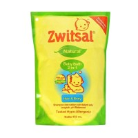 ZWITSAL BABY Bath 2in1 Natural Hair and Body 450ml / 450 ml