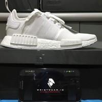 Adidas NMD R1 TRIPLE WHITE ORIGINAL   Adidas Originals Monochrome Pack