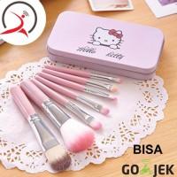 harga Hello Kitty Makeup Brush Complete Set Bonus Kotak Kaleng Tokopedia.com