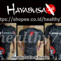 Kaos baju sport sports sublim MMA FC Hayabusa