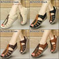 Jual Sepatu Mulan 1200 Sepatu Wanita Wedges - Sepatu Sandal Replika Kickers Murah