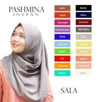 Jual Cukup 3 detik Hijab Jilbab Pashmina Sala Instan (pastan) Bahan Diamond Murah