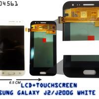 [004561] LCD+TOUCHSCREEN SAMSUNG GALAXY J2/J200G WHITE ORG