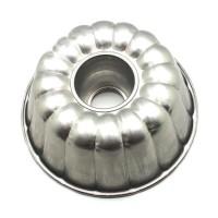 Kiwi Cetakan kue bolu puding Diameter 24 cm - Perak