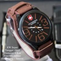 Jam Tangan Pria Victorinox Paket / Set V015 Leather Promo