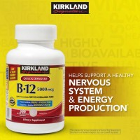 Kirkland Signature B-12 5000 mcg, 300 Tablets.