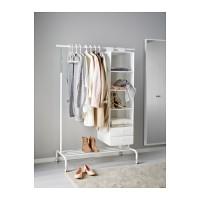 Jual 1.IKEA RIGGA gawang baju/rak baju serbaguna 6 ketinggian + rak sepatu Murah