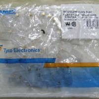 Konektor RJ45 AMP / Connector RJ 45 AMP Per Pack Isi 50pcs