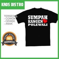 Kaos Sumpah Kangen POLEWALI SV-POL19